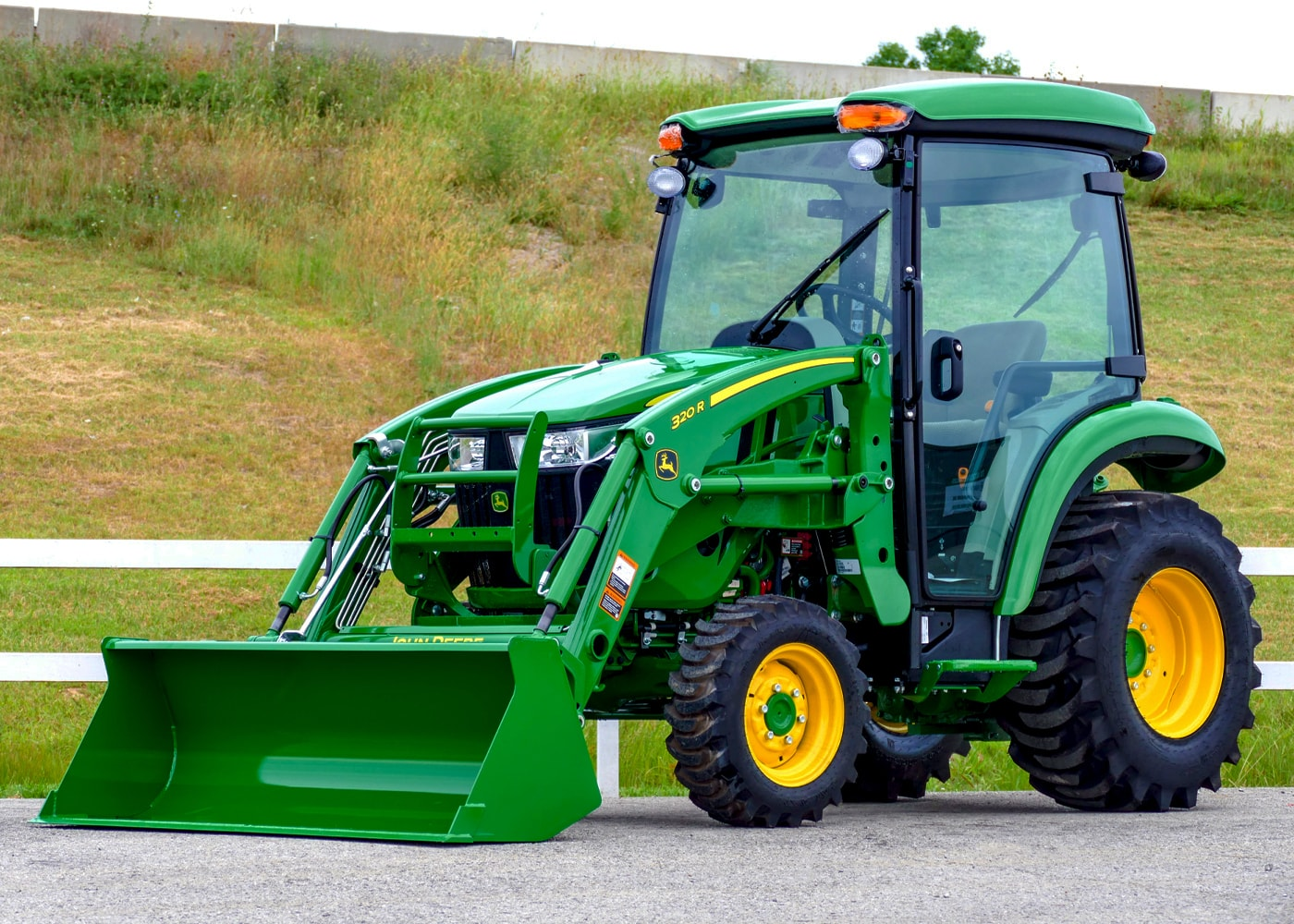 3046R Compact Tractor with 320R Loader and Cab